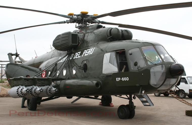 Helicóptero MI-17 Perú Mi-17-ejercito-del-peru