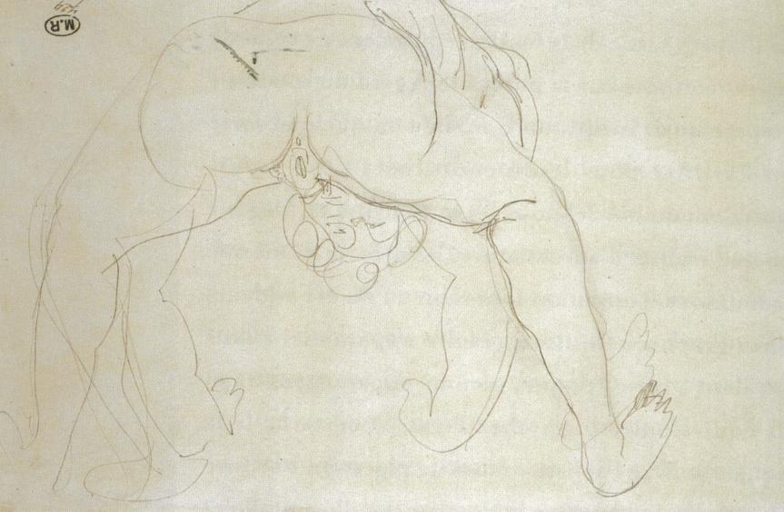 Obsession Corps flottant Rodin-eros-3