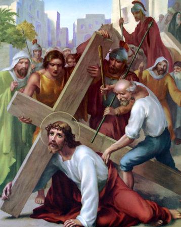 Les 5 Mystères douloureux du Rosaire récitation à Lourdes 368d3981