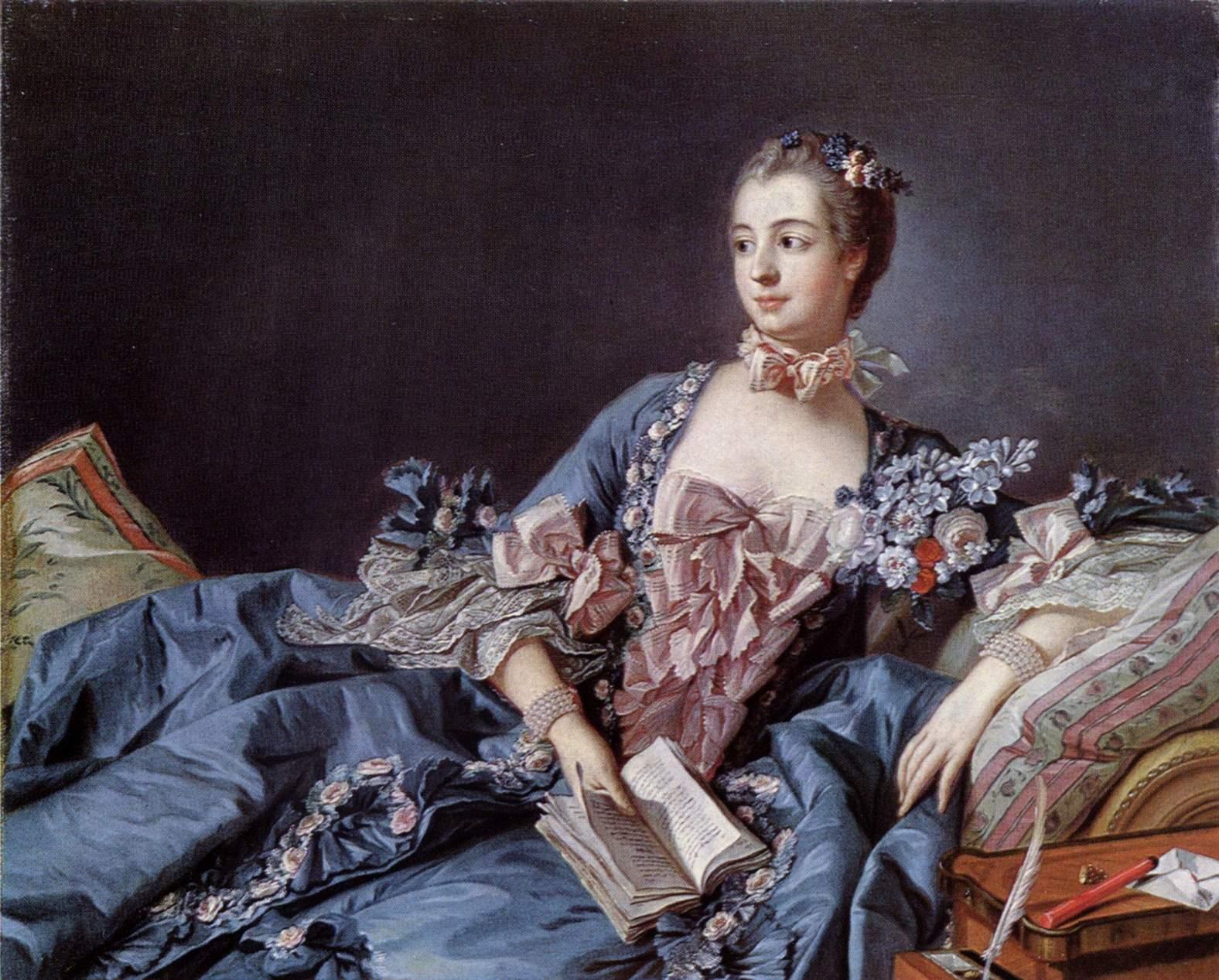 Zena na slikarskom platnu La-pompadour1