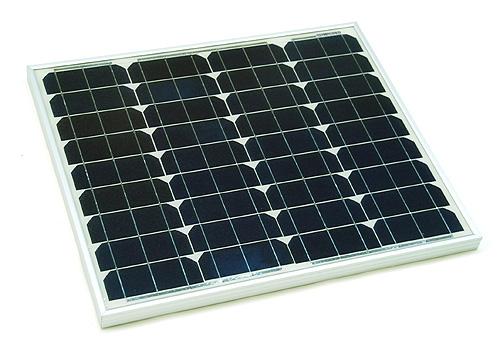 Placa solar de 50w y controlador de 12-24V y 20A Panel50w