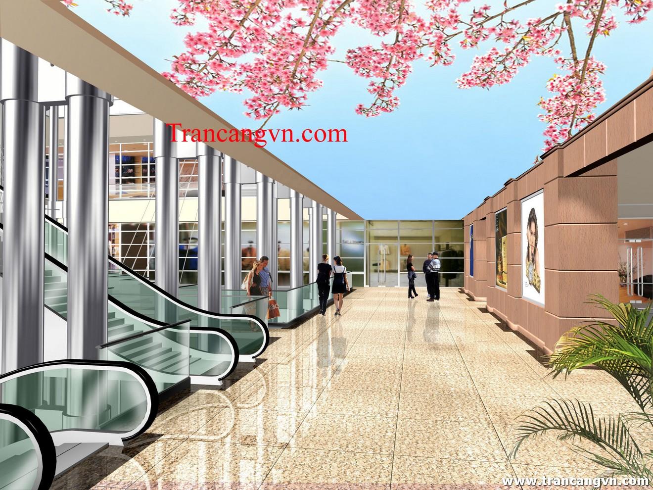 Nội, ngoại thất: Trần nhà, Tường nhà, in hay xuyên sáng L.C Tran-in-Xuyen-Sang-67