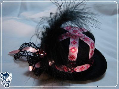 Lysel K. créations - Accessoires, Chapeau, Bijoux Ldoll_hat21s