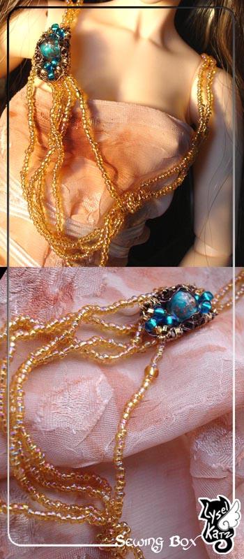 Lysel K. créations - Accessoires, Chapeau, Bijoux LyselSB_BJDparure002s