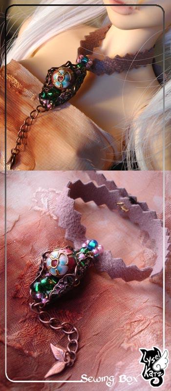 Lysel K. créations - Accessoires, Chapeau, Bijoux LyselSB_BJDparure004s