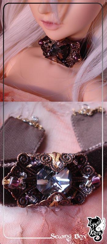 Lysel K. créations - Accessoires, Chapeau, Bijoux LyselSB_BJDparure006s