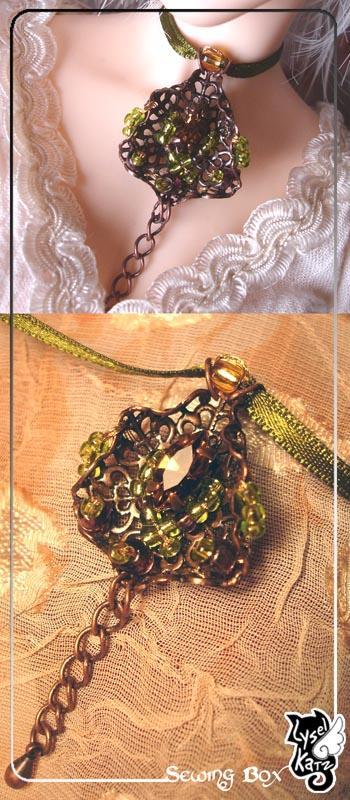 Lysel K. créations - Accessoires, Chapeau, Bijoux LyselSB_BJDparure008s
