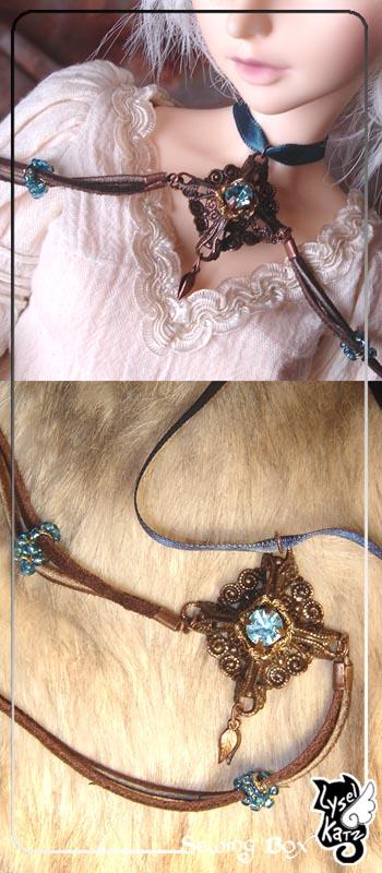 Lysel K. créations - Accessoires, Chapeau, Bijoux LyselSB_BJDparure009s