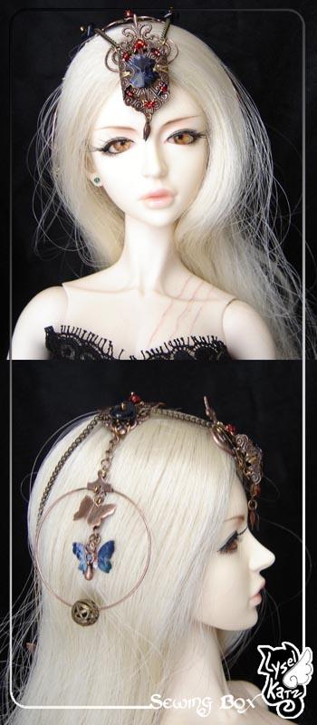 Lysel K. créations - Accessoires, Chapeau, Bijoux LyselSB_camelia-headpiece009As
