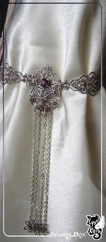 Lysel K. créations - Accessoires, Chapeau, Bijoux LyselSB_camelia-headpiece016Bs