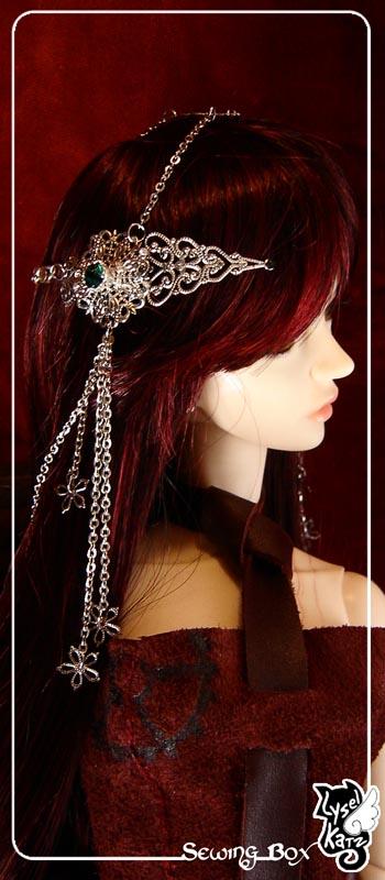 Lysel K. créations - Accessoires, Chapeau, Bijoux LyselSB_camelia-headpiece018As