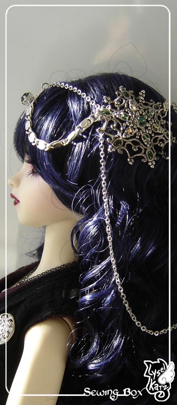 Lysel K. créations - Accessoires, Chapeau, Bijoux LyselSB_camelia-headpiece019As