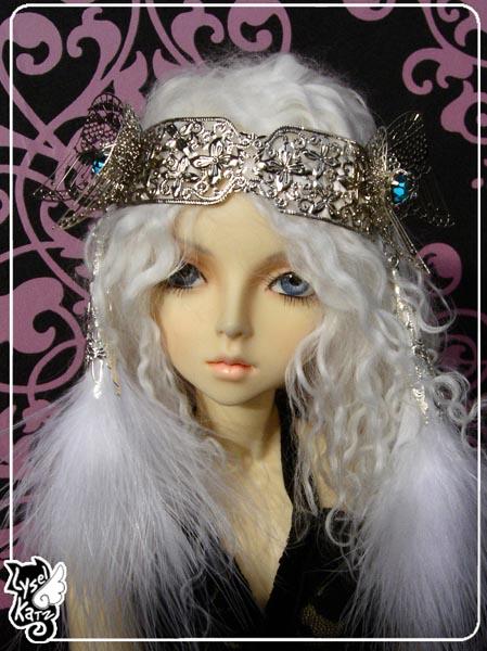 Lysel K. créations - Accessoires, Chapeau, Bijoux LyselSB_camelia-headpiece025s