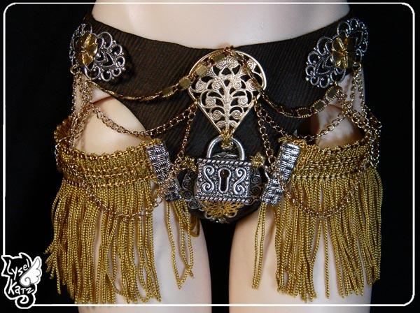 Lysel K. créations - Accessoires, Chapeau, Bijoux LyselSB_comm-chastete02As