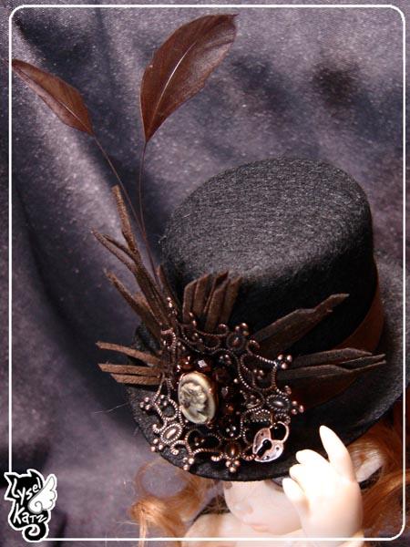 Lysel K. créations - Accessoires, Chapeau, Bijoux LyselSb_Ldoll033s
