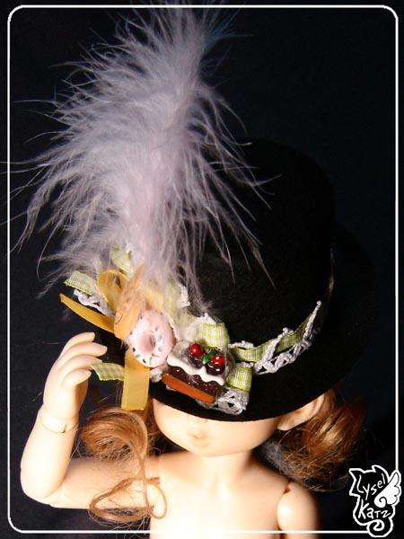 Lysel K. créations - Accessoires, Chapeau, Bijoux LyselSb_Ldoll034s