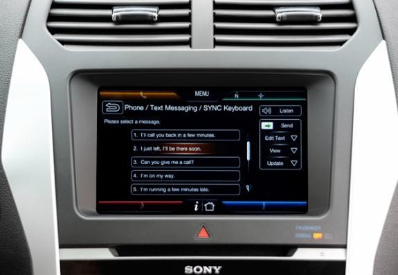 Auto Promocije Ford-SYNC