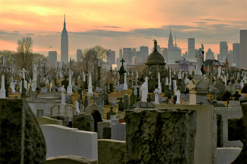 Gothami temető CalvaryCemeteryQueens