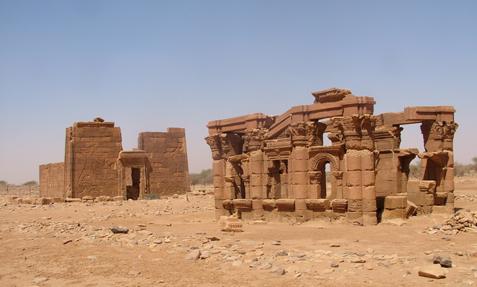 Elsga - a romváros Naqa1