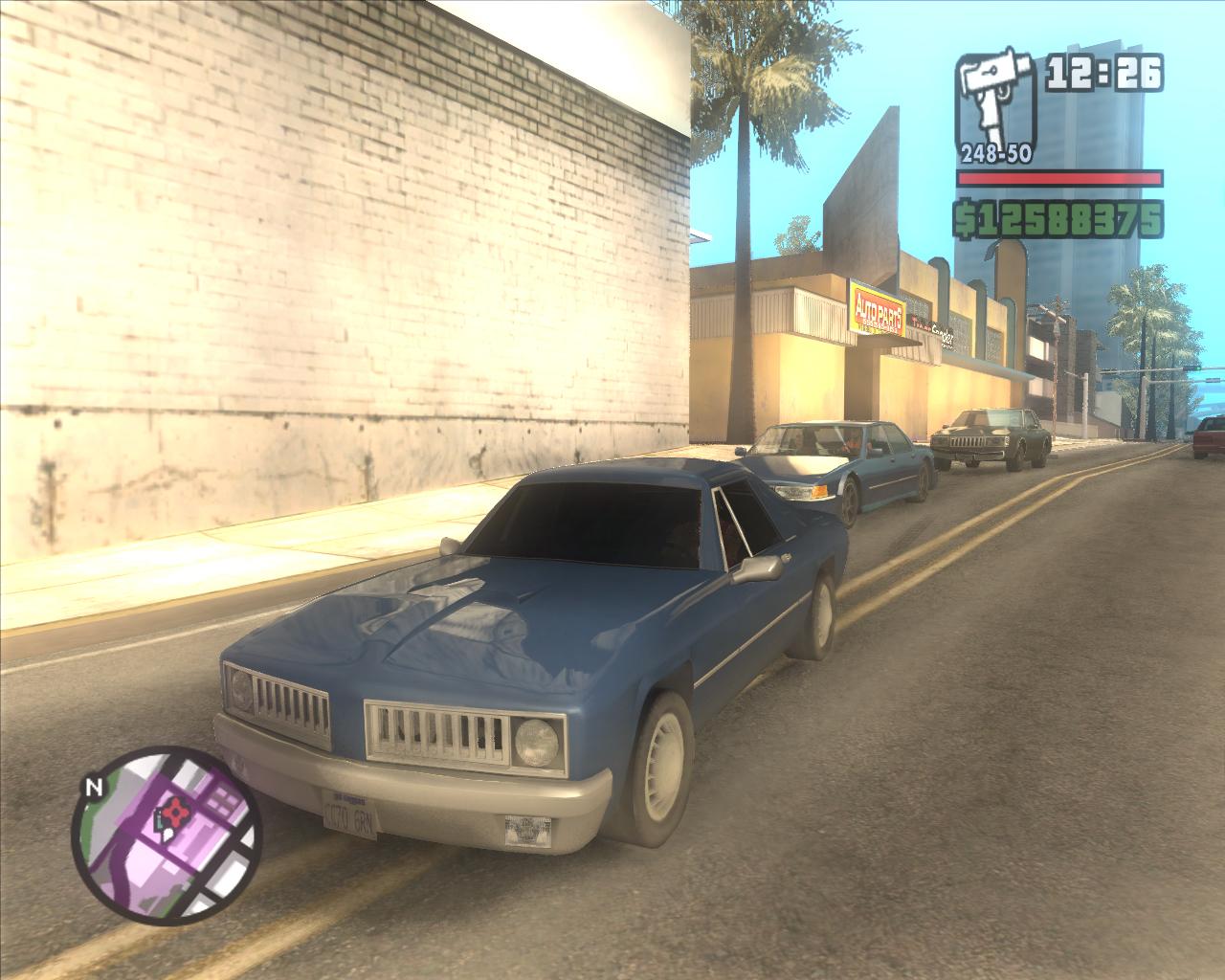 GTA SA - Carros originais em HD + Carros parecidos com os originais 2960_screen01