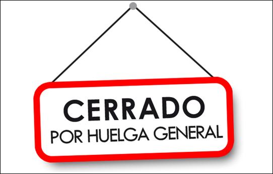 """""""RUTAS ENEMIGAS"""" #345 Cerrado-huelga-general-L-aK36o0"""