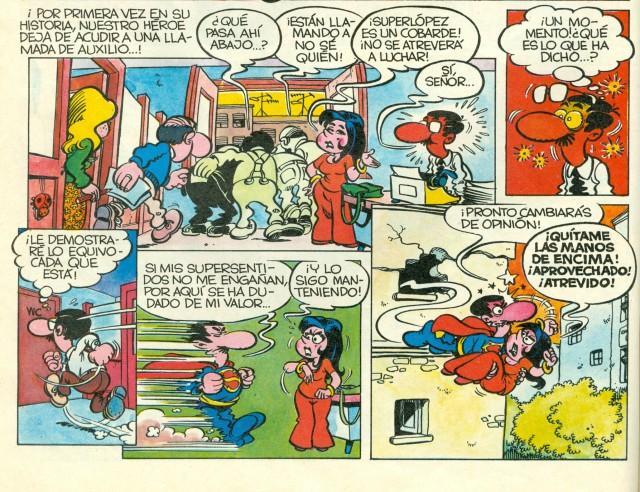 SUPERLOPEZ: Los imprescindibles. Lecturas-parada-13-superlopez-nuestro-heroe-1-L-w9ky9l