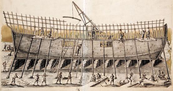El navio de tres puentes en la Armada El-real-astillero-guarnizo-L-MJ_LGW