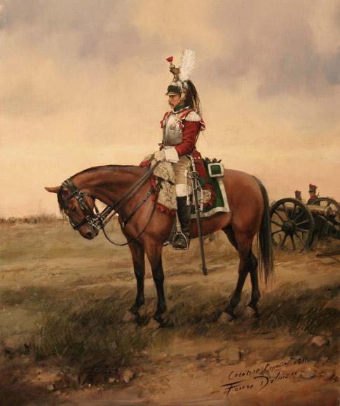 Coraceros del Rey, 1º de Caballería Coracero-del-regimiento-reina-no2-1811-L-cToVHm