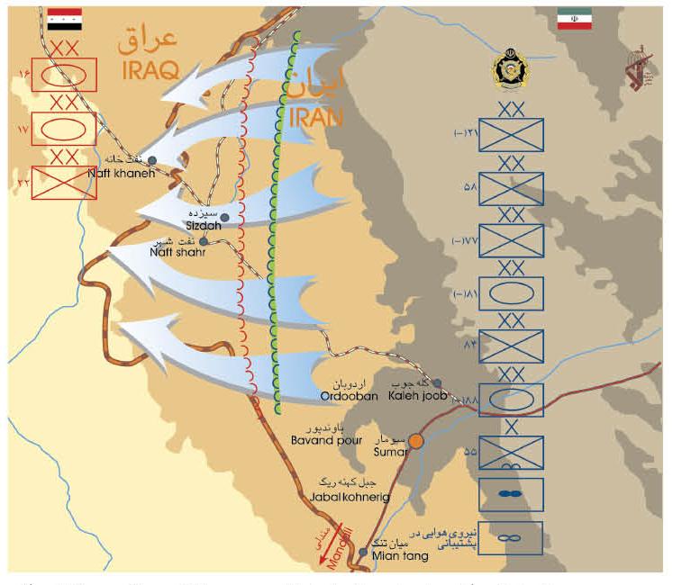 عمليات كربلاء-6 ........الهجوم الايراني التضليلي في شتاء 1987 في القاطع الاوسط  Karbala_6
