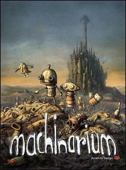 Machinarium ( Pc et Mac ) Machinarium-titulka