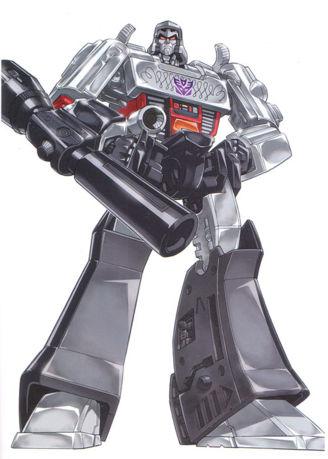 Question: Quel fut votre 1er jouet Transformers et quel fut votre 1er personnage Transformers préféré? Megatron