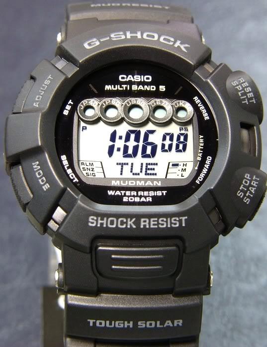 A la recherche d'une G-Shock pour VTT Gw-9000-1jf2