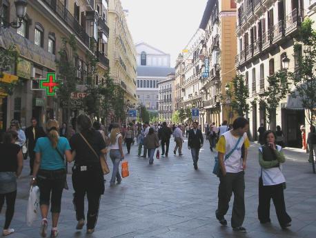 عــاصمة اسبـانيا (( مدريد)) Shoppinginmadrid