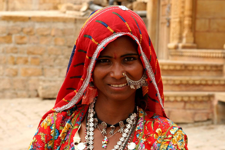 Rama Yade contre le voile Jaisalmer04