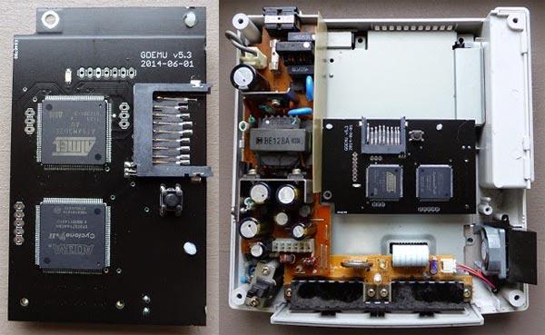 Dreamcast: Charger des jeux depuis une SDCard sera bientôt possible  Gdemu