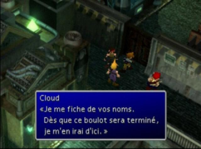Les traductions officieuses de Final fantasy VII  Final-fantasy-7-fr