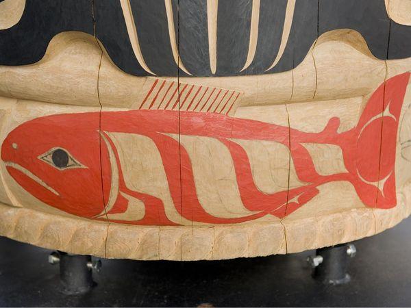 зодиак - Тотемный гороскоп индейцев. IOC-Totem-Salmon_11994_600x450