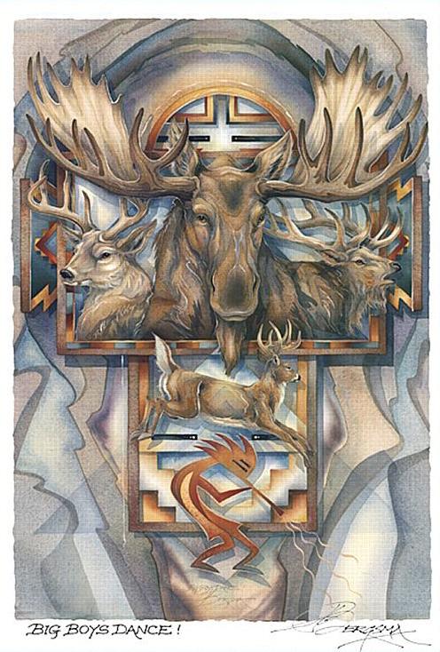 зодиак - Тотемный гороскоп индейцев. An_olen