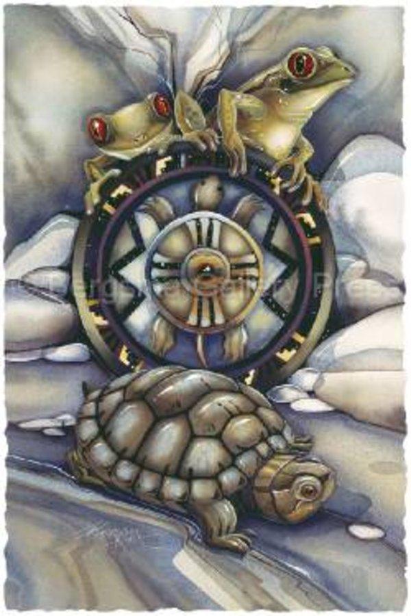 зодиак - Тотемный гороскоп индейцев. Klan_lyagushki243
