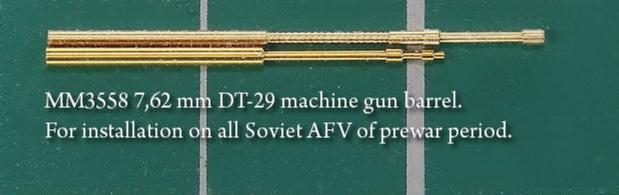 КВ-2 выпуска мая - июня 1941 года. 1/35 ГОТОВО - Страница 2 7_62_mm_DT_29_ma_543d2b9de3c98