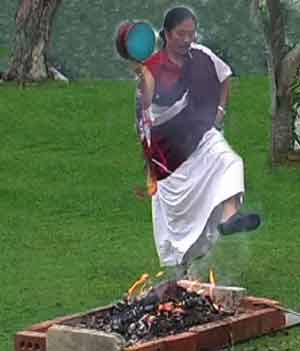 Les Ngagphang Fire-puja
