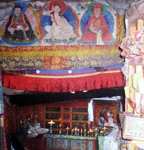 Les Ngagphang Milarepa-grotte