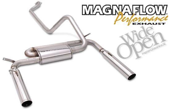 Ecchappement double sortie. Magnaflow-exhaust-system