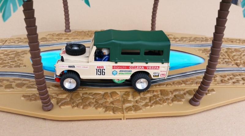 Land Rover du FOLM Dakar Lr3
