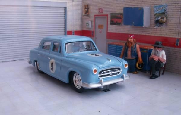 Mon auto pour le rallye classique du FROL (Peugeot inside) 403-01