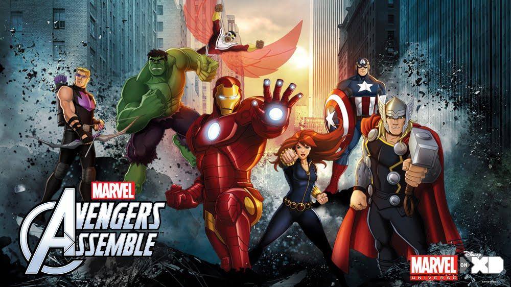 Marvel's Avengers Assemble [Série animée] Marvelavengers