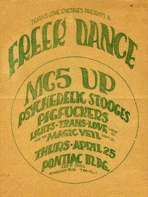 Freek Dance 1968 / Doors 1967 Photos 68poster47b