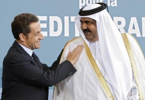 L'intervention militaire française au Mali vise-t-elle à assurer les intérêts d'Areva ? - Page 2 1512-sarkozy-qatar