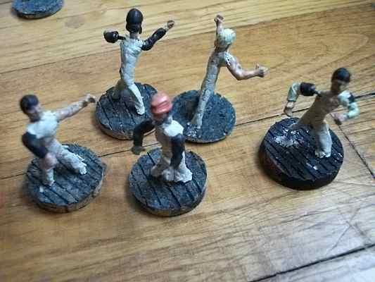 sculpture de figurines PaysanEpoxyPateModeleTerraCotta4