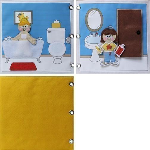 Мастер-класс. Развивающая книга для детей 87fd058e248c841adac3d2f3da62b647